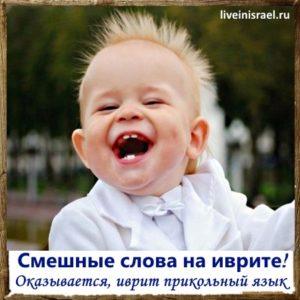 Смешные слова и фразы на иврите, которые забавно и странно звучат на русском. А также вместе учим иврит: ругательные слова, сленг, разговорные фразы и т.д